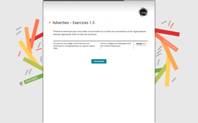 Ressource Externe : Adverbes – Exercices 1.5
