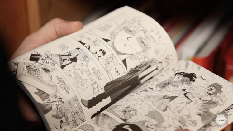Vidéo : Bande dessinée – Vidéo 1