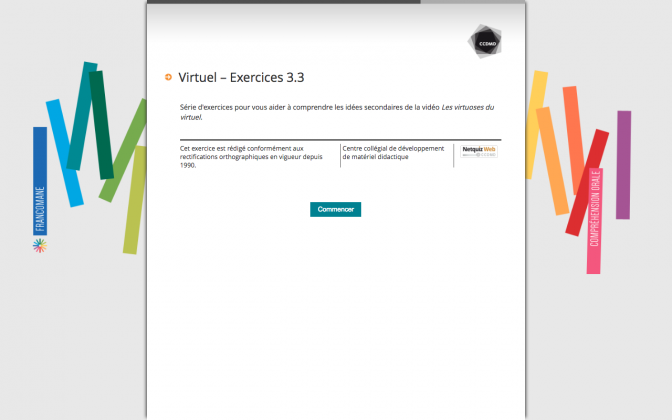 Ressource Externe : Virtuel – Exercices 3.3