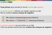 Vidéo : Formes de phrases – Animation
